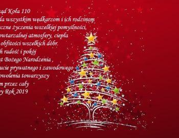 Zdrowych i Wesołych Świąt Bożego Narodzenia oraz Szczęśliwego Nowego Roku
